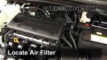 2012 Hyundai Tucson Limited 2.4L 4 Cyl. Filtro de aire (motor)