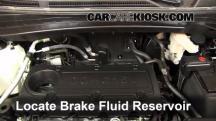 2012 Hyundai Tucson Limited 2.4L 4 Cyl. Brake Fluid