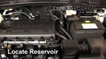 2012 Hyundai Tucson Limited 2.4L 4 Cyl. Líquido limpiaparabrisas