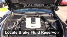 2012 Infiniti G25 X 2.5L V6 Brake Fluid