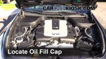 2012 Infiniti G25 X 2.5L V6 Oil