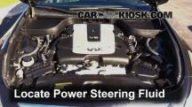 2012 Infiniti G25 X 2.5L V6 Power Steering Fluid