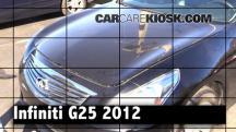 2012 Infiniti G25 X 2.5L V6 Review