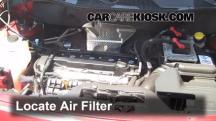 2012 Jeep Patriot Sport 2.0L 4 Cyl. Filtro de aire (motor)