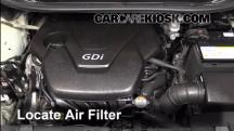 2012 Kia Rio5 LX 1.6L 4 Cyl. Air Filter (Engine)