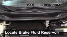 2012 Kia Rio5 LX 1.6L 4 Cyl. Brake Fluid