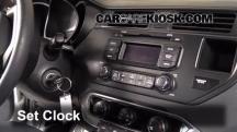 2012 Kia Rio5 LX 1.6L 4 Cyl. Clock