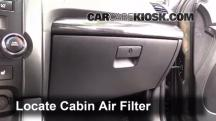 2012 Kia Sorento EX 3.5L V6 Air Filter (Cabin)