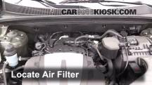 2012 Kia Sorento EX 3.5L V6 Air Filter (Engine)