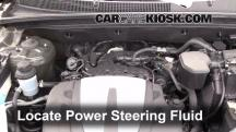 2012 Kia Sorento EX 3.5L V6 Power Steering Fluid