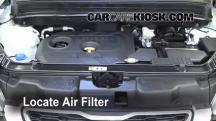 2012 Kia Soul ! 2.0L 4 Cyl. Filtro de aire (motor)