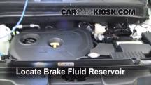 2012 Kia Soul ! 2.0L 4 Cyl. Brake Fluid