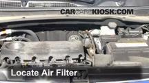2012 Kia Sportage EX 2.4L 4 Cyl. Air Filter (Engine)