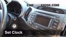 2012 Kia Sportage EX 2.4L 4 Cyl. Clock