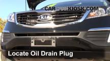2012 Kia Sportage EX 2.4L 4 Cyl. Oil