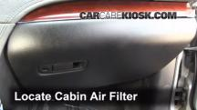 2012 Lincoln MKT 3.7L V6 Air Filter (Cabin)