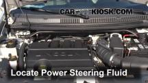 2012 Lincoln MKT 3.7L V6 Power Steering Fluid