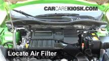 2012 Mazda 2 Touring 1.5L 4 Cyl. Hatchback (4 Door) Air Filter (Engine)