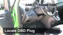 2012 Mazda 2 Touring 1.5L 4 Cyl. Hatchback (4 Door) Compruebe la luz del motor