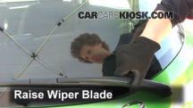 2012 Mazda 2 Touring 1.5L 4 Cyl. Hatchback (4 Door) Windshield Wiper Blade (Rear)