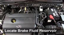 2012 Mazda 6 i 2.5L 4 Cyl. Brake Fluid