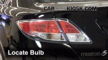 2012 Mazda 6 i 2.5L 4 Cyl. Luces