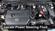 2012 Mazda 6 i 2.5L 4 Cyl. Power Steering Fluid