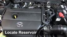2012 Mazda 6 i 2.5L 4 Cyl. Líquido limpiaparabrisas