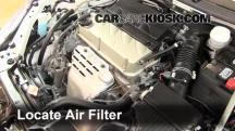 2012 Mitsubishi Eclipse GS Sport 2.4L 4 Cyl. Filtro de aire (motor)