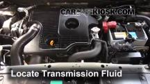 2012 Nissan Juke S 1.6L 4 Cyl. Turbo Transmission Fluid