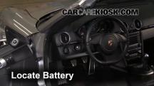 2012 Porsche Boxster 2.9L 6 Cyl. Batería