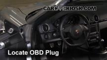 2012 Porsche Boxster 2.9L 6 Cyl. Compruebe la luz del motor