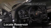 2012 Porsche Boxster 2.9L 6 Cyl. Windshield Washer Fluid