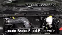 2012 Ram 1500 SLT 5.7L V8 Crew Cab Pickup Brake Fluid