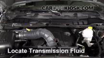 2012 Ram 1500 SLT 5.7L V8 Crew Cab Pickup Transmission Fluid