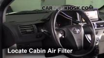 2012 Scion iQ 1.3L 4 Cyl. Air Filter (Cabin)