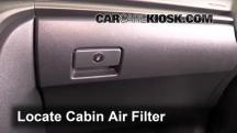 2012 Scion tC 2.5L 4 Cyl. Filtro de aire (interior)