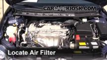 2012 Scion tC 2.5L 4 Cyl. Filtro de aire (motor)