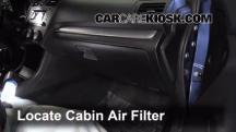 2012 Subaru Impreza 2.0L 4 Cyl. Wagon Air Filter (Cabin)