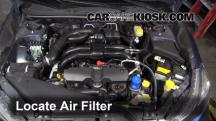 2012 Subaru Impreza 2.0L 4 Cyl. Wagon Air Filter (Engine)
