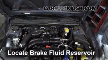 2012 Subaru Impreza 2.0L 4 Cyl. Wagon Brake Fluid