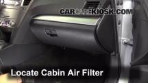 2012 Subaru Outback 2.5i Premium 2.5L 4 Cyl. Air Filter (Cabin)