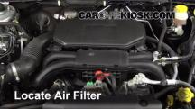 2012 Subaru Outback 2.5i Premium 2.5L 4 Cyl. Air Filter (Engine)