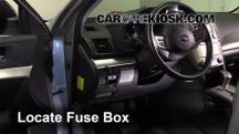 2012 Subaru Outback 2.5i Premium 2.5L 4 Cyl. Fuse (Interior)