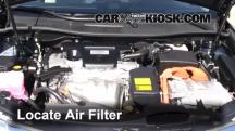 2012 Toyota Camry Hybrid XLE 2.5L 4 Cyl. Air Filter (Engine)