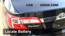 2012 Toyota Camry Hybrid XLE 2.5L 4 Cyl. Battery