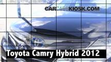2012 Toyota Camry Hybrid XLE 2.5L 4 Cyl. Review
