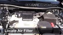 2012 Toyota Camry LE 2.5L 4 Cyl. Filtro de aire (motor)