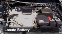 2012 Toyota Camry LE 2.5L 4 Cyl. Battery