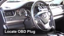 2012 Toyota Camry LE 2.5L 4 Cyl. Compruebe la luz del motor